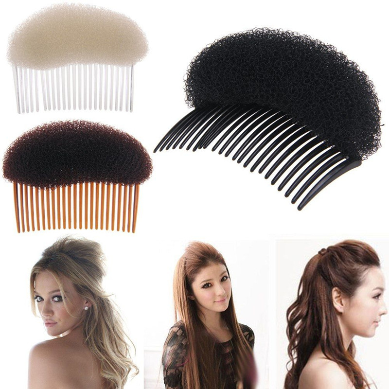 Fashion Women Hair Styling Clip Plastic Stick Bun Maker Tool Comb Hair Accessories For Hairdressing Maker Braid Tool Accessories