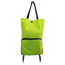 As Seen On TV Grocery Grab Shopping Bag Foldable Shopping Trolley Wheel lightweight Folding Bag Supermarket Large Capacity Bags