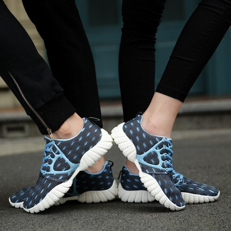 Zapatos Para Correr de Malla Transpirable Verano de los hombres Masculinos Zapat