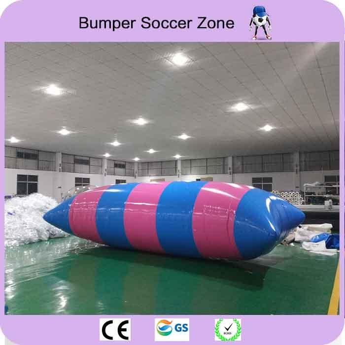 Free Freight 9m*3m Inflatable Blob Jumping Water Air Bag Water Catapult Blob Inflatable Water Jumping Pillow стоимость