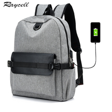 Men USB Charging 15 inch Laptop Backpack For Women Business Men Backpack Casual Shoulders School Bags For Boys  printing