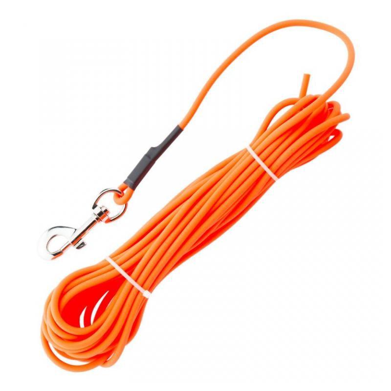La boucle ronde imperméable d'alliage de zinc de laisse de formation de chien de 10 mètres peut être adaptée aux besoins du client pour de petits accessoires de chien de laisses de grand chien