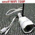 Novo Vídeo de Vigilância HD Mini Câmera IP Wi-fi 720 P ONVIF Camara Sem Fio Visão Nocturna do IR Ao Ar Livre Câmera de Segurança CCTV sistema