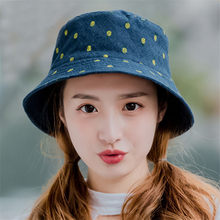 8ea98a5e85a49 2018 Women Sun Hat Pineapple Printed Bucket Hat Female Spring Summer  Outdoor Fisherman Cap Casual Beach Cap For Girls. US  3.74   piece Free  Shipping