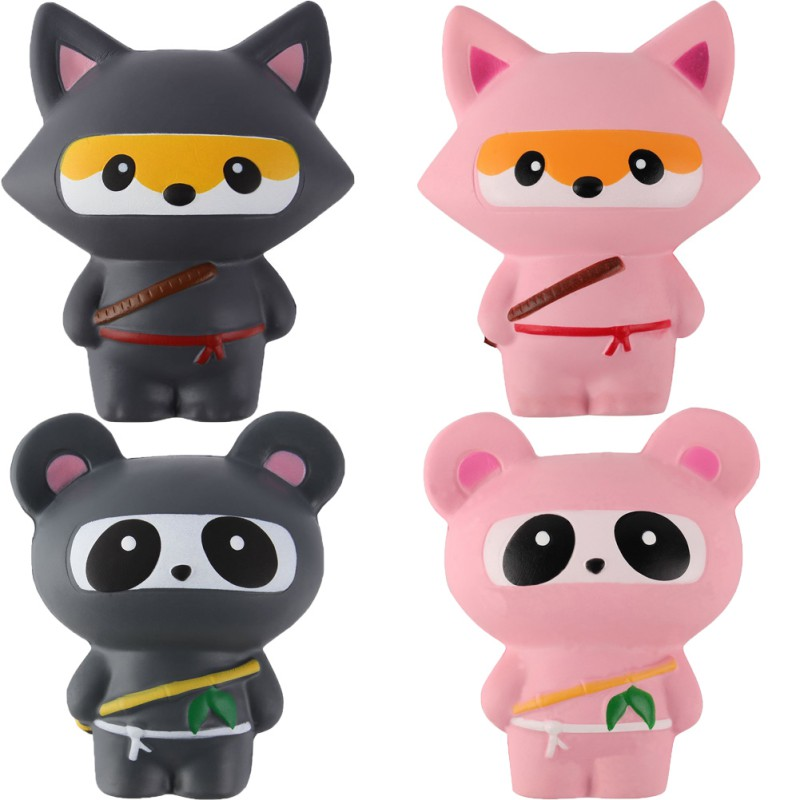 Ninja Jumbo Squishies Baby Healing Squishy Slow Squeeze Soft Rising Toy Scented Children Toys Funny Kawaii
