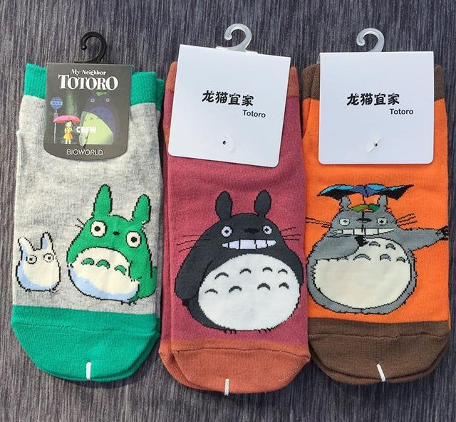 Носки с изображением Тоторо