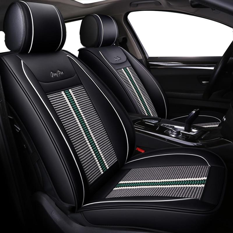 Ice Silk Car Seat Covers Fit Honda Civic 2018 2003 2018