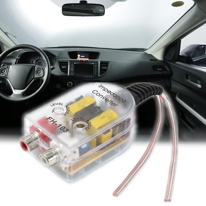 Auto Lautsprecher zu RCA Ebene Adapter Absteigend Steckdosen Auto ...