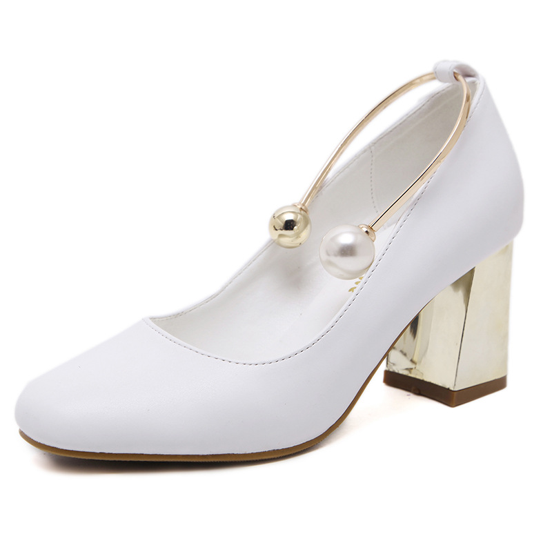 Ladies Square Toe Shoes