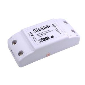 Image 2 - 10 قطعة SONOFF الأساسية اللاسلكية واي فاي التبديل وحدة التحكم عن بعد أتمتة لتقوم بها بنفسك الموقت العالمي المنزل الذكي 10A 220 فولت التيار المتناوب 90 250 فولت