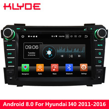 Klyde 4G octa Core 32 GB ROM Android 8.0 7.1 4 GB RAM DAB reproductor multimedia de DVD para hyundai I40 2011 2012 2013 2014 2015 2016