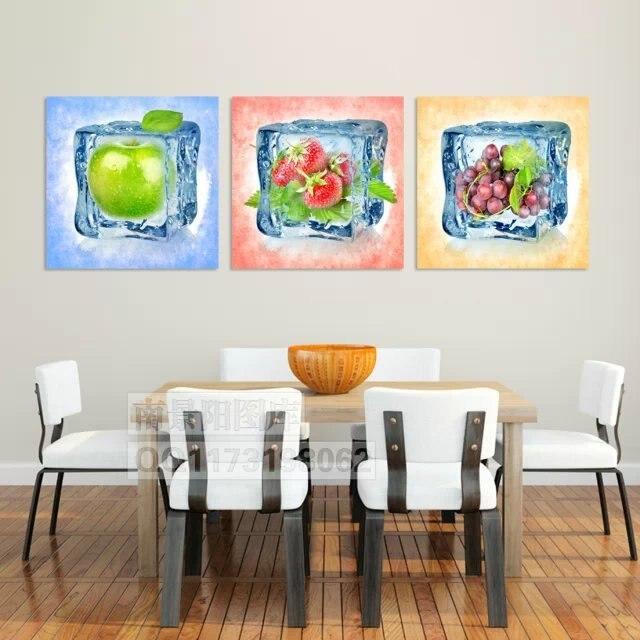 aliexpress.com: acheter vente chaude iced fruits frais peinture ... - Peinture Sur Toile Pour Cuisine