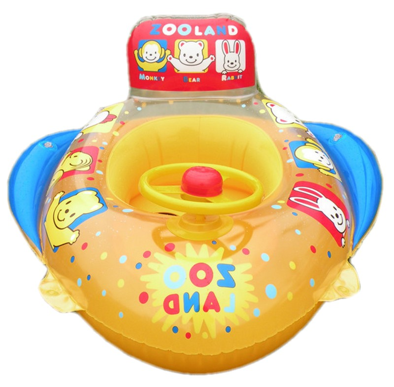 2016 Baby Pool Floats Kids Safety Swimming Seat Toys Children Swim Circle New Arrival Inflatable Boat In Accessories From Mother On