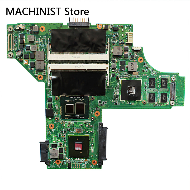 U45JC  motherboard I3-370M GF310M For ASUS U45 U45J U45JC laptop motherboard REV2.0 I3-370M GF310M DDR3 HM55