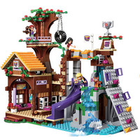 37048 Adventure Camp Tree House Compatible with Legoings Friends Building blocks Bricks Toys for Children Christmas Bricks Gift