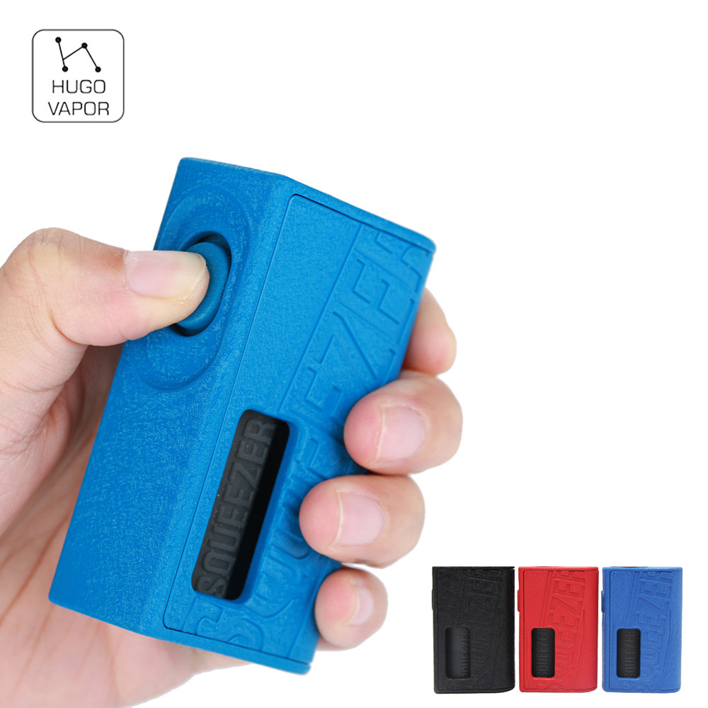 Original Hugo Vapor Squeezer BF 20700 Mechanical Box MOD with 10ml Silicone Bottle Long Time Vaping Vape Box Mod vs LUXOTIC Mod