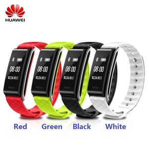 Image 1 - HUAWEI Color Band A2 Band Smart Wristband Sleep Heart Rate Monitor Bracelet Fitness Tracker IP67 Bluetooth OLED For Android iOS