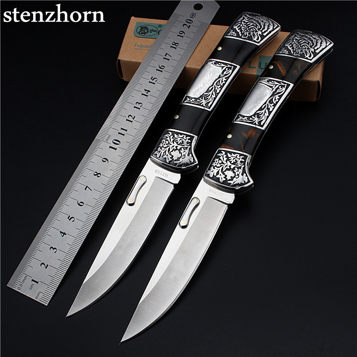 Stenzhorn 2017 New Tactical Knife Real Sale Steel Outdoor Folding Self-defense Wilderness Survival with High Hardness Wild Fruit  stenzhorn 2017 new real authentic self defense wilderness survival high hardness knife with wild fruit folding outdoor the devil