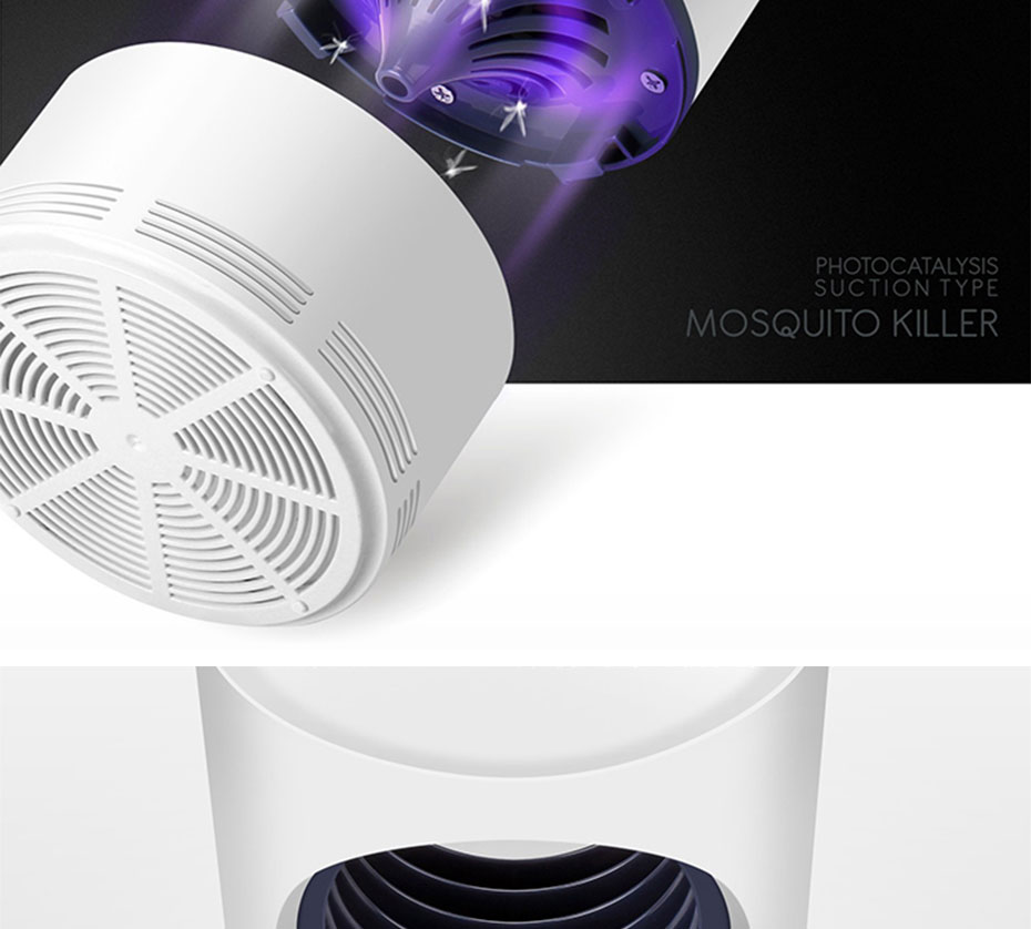 Inseto Assassino Bug Zapper USB Flie Lanterna