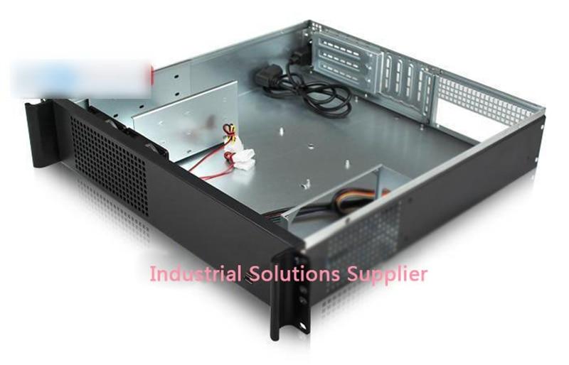 NEW 2u computer case industrial computer case 450mm 2u server short box pc large-panel big power supply цены онлайн