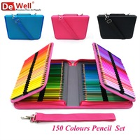 Artist 150 Colors Soft Colored Pencils Wood Lapis de cor 150 cores Coloured Pencils Set for Painting Sketch School Art Supplies