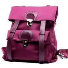 Натуральная кожа Оксфорд Женский Рюкзак дизайнерский бренд женские рюкзаки мода диких колледж Рюкзак Повседневная дорожные сумки