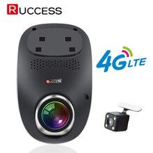 RUCCESS R40S Dash Cam Samochodów DVR 4G Wifi GPS Kamera Zdalnego Monitor ADAS Inteligentny Android 5.1 z Dwoma Obiektywami 1080 P Nigth Vision Dashcam rejestratorów