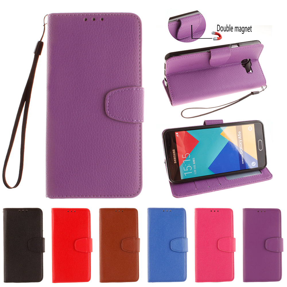 Leather for <font><b>Samsung</b></font> <font><b>Galaxy</b></font> <font><b>A5</b></font> 2016 A 5 <font><b>510</b></font> SM-A510M A510f/ds SM-A510f/ds Flip Case Phone Cover A510 SM-A510 A510F SM-A510F Case image