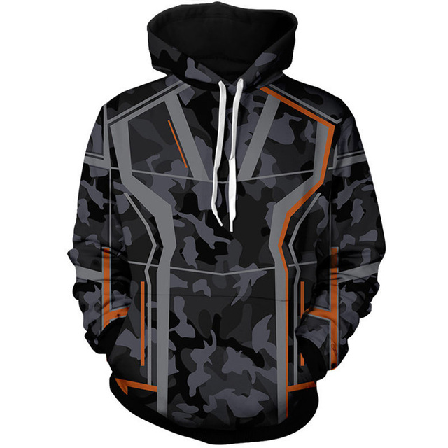 a6cf26f1e US $32.15  The Avengers 3 Superhero Hoodies Pullover Iron Man Venom Spider  Man Daily Zipper Coat Outfit Tops Casual Sweatshirt-in Hoodies & ...