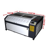 free tax Big power 100w cnc laser engraving machine metal cutting machine 1060 PRO with DSP System Auto focus chiller 220/110v
