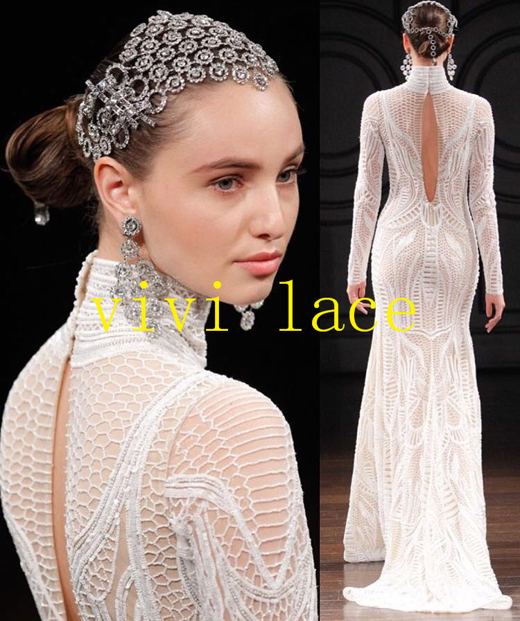Detail Feedback Questions about XX003 offwhite sequin embroidery tulle mesh  lace for stage show wedding evening dress party 9251c259b5ec
