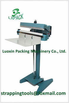 LX-PACK 8'' 12' 16' Hand Heat Sealer Constant heat for sealing cellulose heavy film laminate coated foils and wax coated papers