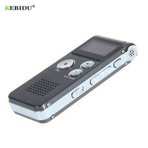 kebidumei 8 GB Voice Recorder USB Dictaphone Digital Audio Voice Recorder for Business with MP3 Player Built-in Microphone