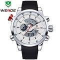 2016 Mens Relógios Top Marca de Luxo WEIDE Homens De Quartzo Masculino Relógio Digital LEVOU Assistir Militar Sport Watch relogio masculino WH3401