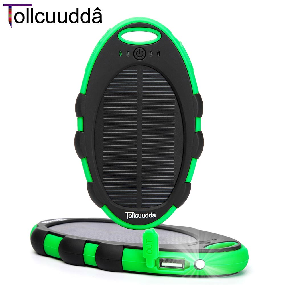 Tollcuudda Smartphone Solar Power Bank For Mobile ...