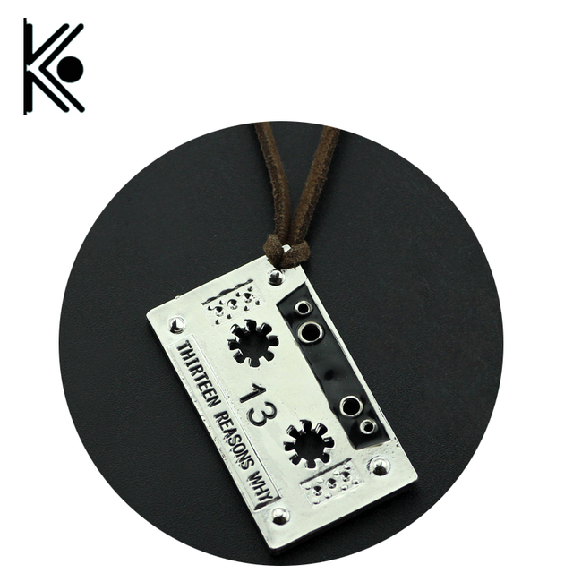 Wholesale 20pc Us Tv Series Jewelry 13 Thirteen Reasons Why Necklace
