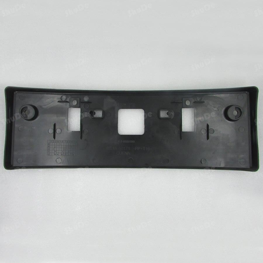 mazda 3 license plate frame