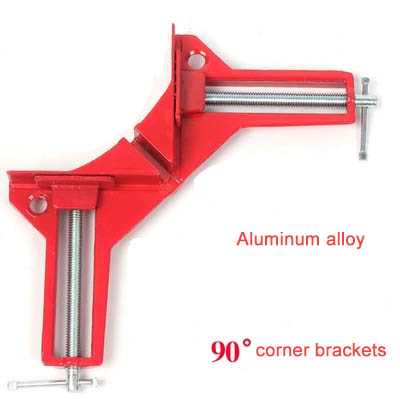 90 Degree Right Woodworker Angle Fixture Corner Clamps Photo Holder Jig Woodworking and Fish tank glass Tool rapid fixture clamps fixture clamp fastening compactor gh101a