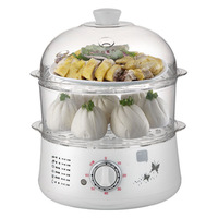 pot cooker electric cooker steamer 2 layers eggs boiler breakfast machine mini Multi Cookers dropshipping