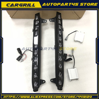 For 2007 2009 Audi Q7 LED Daytime Running Light Lower Bumper DRL w/ Turn Signal