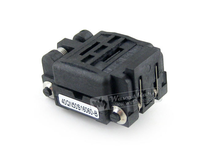 40QN50K16060 40QN50S16060 Plastronics IC Test Socket 0.5mm Pitch QFN40 MLP40 MLF40 Package