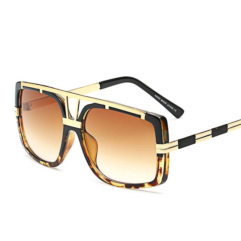 Steampunk Goggles Men Carter Oversized Sunglasses Women Transparent Oculos Sun Glasses Luxury Brand designer Driver Eyeglasses