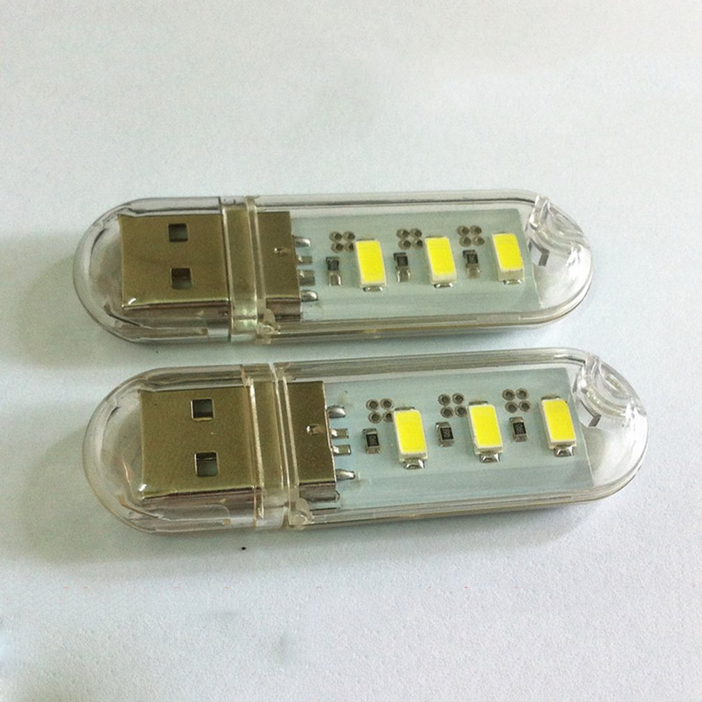 High-brightness LED USB Flashlight USB Light USB Computer Light 5V Charging Treasure Night Light 5V U Disk Light For Laptop