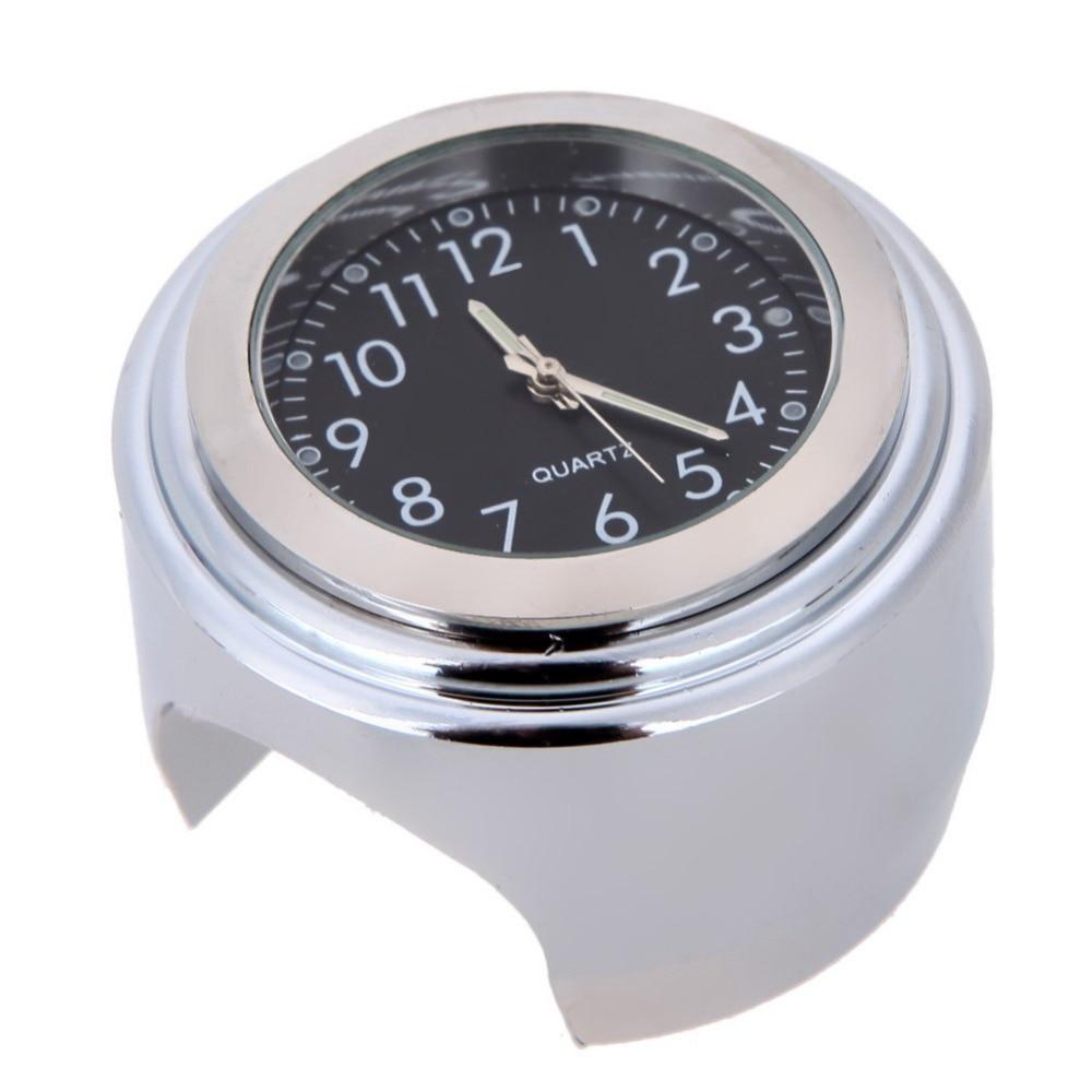Reloj Universal del manillar de la motocicleta de 7/8