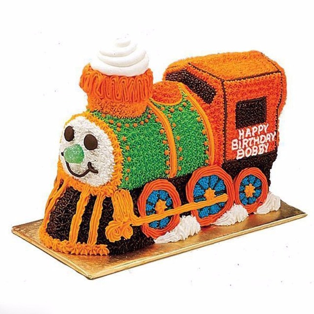 3D Train Cake Mold