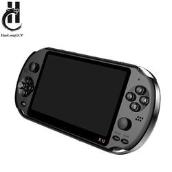 Портативная игровая консоль 5,1 дюйма 8 Гб, с 1000 предустановленных бесплатных игр