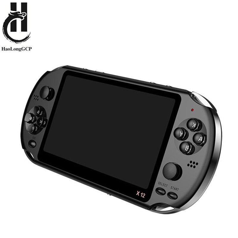 Новейшая 5,1 дюймовая портативная игровая консоль, двойной джойстик, 8 ГБ, предварительно загруженные 1000 бесплатные игры, поддержка ТВ-выхода, видео игровая машина