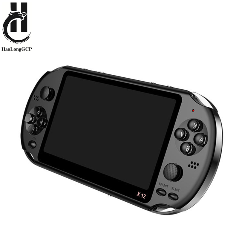 Newest 5.1 inch Handheld Portable Game Console Dual Joystick 8GB preloaded 1000 free games support TV Out video game machine(China)