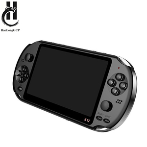 Newest 5.1 inch Handheld Portable Game Console Dual Joystick 8GB preloaded 1000 free games support TV Out video game machine