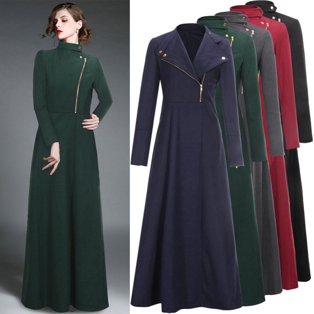 Long A-Line Wool Coat: Cold weather is no match for this long, figure-flattering specialisedsteels.tk boasts a warm wool blend with a soft, brushed feel and is fully lined for quality. Back vent for ease, two side-seam pockets, button closure and button detail at cuffs.